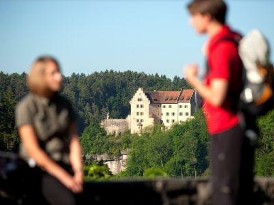 Wandern um Burg Rabenstein