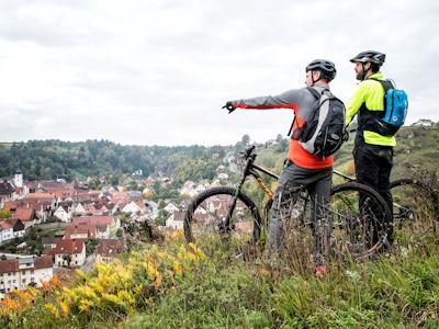 Mountainbiken mit Aussicht