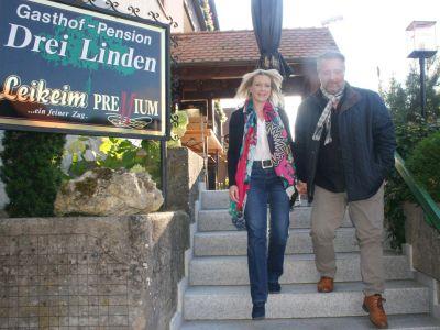 Willkommen im Gasthof Drei Linden