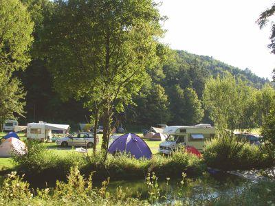Camping- und Wohnmobilurlaub in Franken